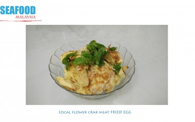 Recipe: Crab meat fried eggs