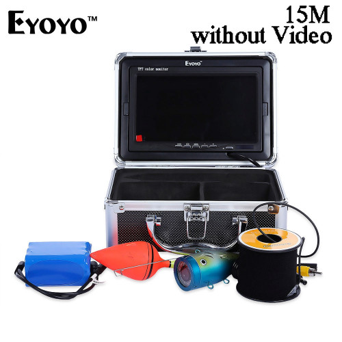 EYOYO 15M 1000TVL FISH FINDER (BLACK, 15M WITHOUT VIDEO)